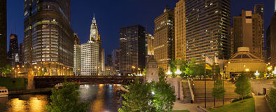 Ville de Chicago Photo stock