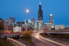 Ville de Chicago photo libre de droits
