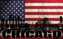 Ville de Chicago Photos stock