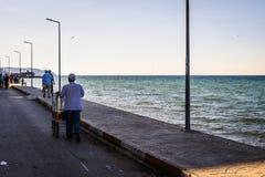 Ville de Cinarcik en automne - Turquie Photographie stock