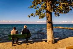 Ville de Cinarcik en automne - Turquie Photo libre de droits