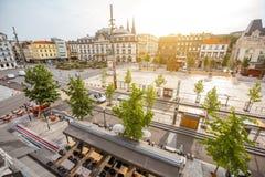 Ville de Clermont-Ferrand dans les Frances Images stock