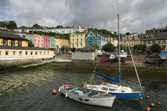 Ville de Cobh Photos stock