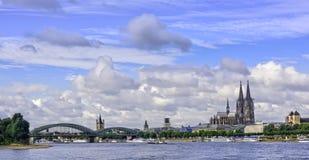 Ville de Cologne, Allemagne Photographie stock
