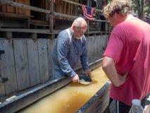 Ville de Colombie, comté d'or, la Californie, Etats-Unis : Cuisson d'or images stock