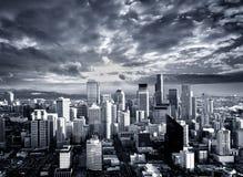 Ville de contraste photo libre de droits