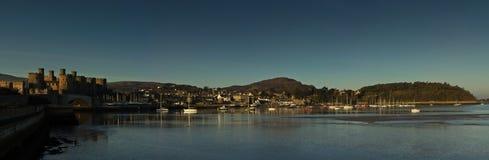Ville de Conwy Image libre de droits