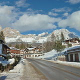 Ville de Cortina Images stock