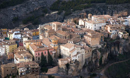 Ville de Cuenca dans le secteur de Mancha de La en Espagne centrale Photos libres de droits