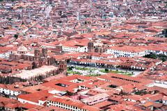 Ville de Cuzco Photo stock