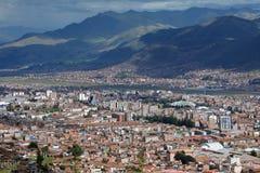 Ville de Cuzco au Pérou, Amérique du Sud Photographie stock