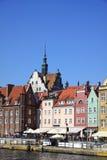 Ville de Danzig, Pologne Photos libres de droits