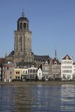 Ville de Deventer, Pays-Bas Photo stock