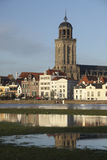 Ville de Deventer, Pays-Bas Image stock