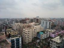 Ville de Dhaka photographie stock libre de droits