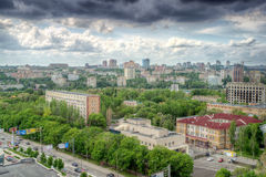 Ville de Donetsk, Ukraine Image libre de droits