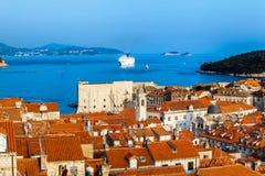 Ville de Dubrovnik en Croatie Photo libre de droits