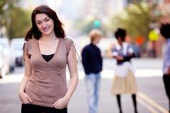 Ville de femme Image libre de droits