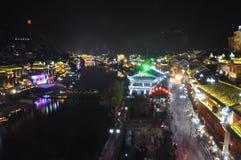 Ville de FengHuang Photographie stock libre de droits