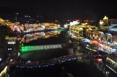 Ville de FengHuang Image libre de droits