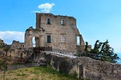 Ville de Fiumefreddo Bruzio, Calabre, Italie photos libres de droits