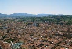 Ville de Florence, Italie Images libres de droits