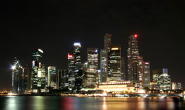 Ville de flottement Photos libres de droits