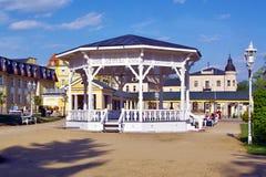 Ville de Franzensbad dans la République Tchèque photographie stock libre de droits