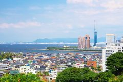 Ville de Fukuoka, Japon Photo stock