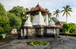 Ville de Gadaladenyia Vihara Kandy, Sri Lanka photographie stock