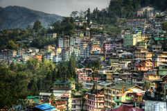 Ville de Gangtok Photo libre de droits