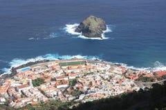 Ville de Garachico Images libres de droits