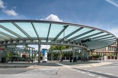 Ville de gare routière de Bayreuth vieille Images stock