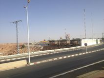 Ville de Ghardaia Image stock