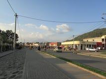Ville de Gisenyi photographie stock