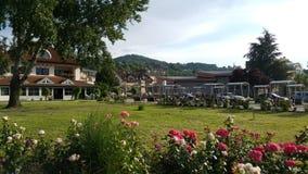 Ville de Gornji Milanovac photo stock