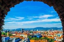 Ville de Graz Image libre de droits