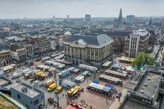 Ville de Groningue, Pays-Bas Image stock