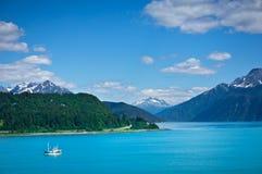 Ville de Haines près de baie de glacier, Alaska, Etats-Unis Photo libre de droits