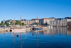 Ville de Helsinki Photo libre de droits