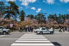 Ville de Hirosaki Photographie stock