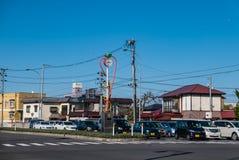Ville de Hirosaki images libres de droits
