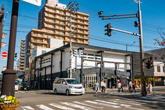 Ville de Hirosaki images stock