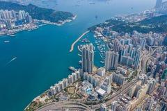 Ville de Hong Kong images stock