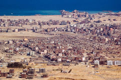 Ville de Hurghada Photos libres de droits