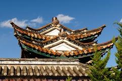 Ville de Jianchuan en Chine Photographie stock