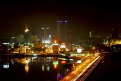 Ville de Johor Bahru Image libre de droits