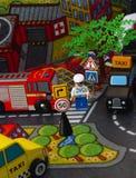 Ville de jouet Photo libre de droits