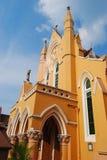 Ville de Kandy d'église méthodiste, Sri Lanka image libre de droits