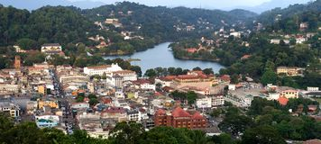 Ville de Kandy d'héritage de Word, Sri Lanka photo libre de droits